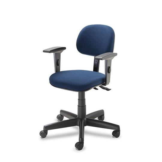 Cadeira secretaria giratória 4004 com braço