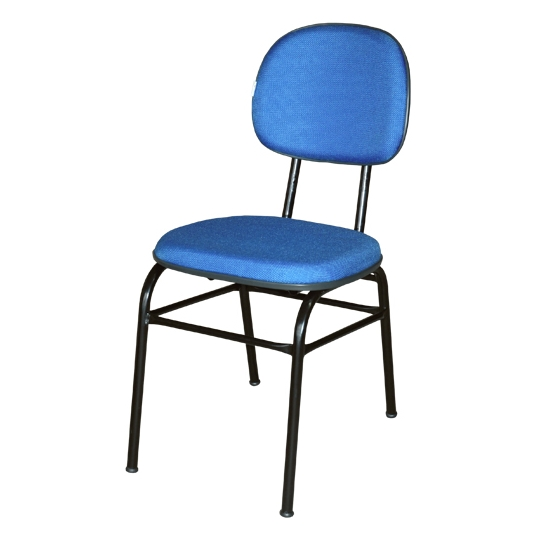 Cadeira secretária 04 pés com 04 travessas