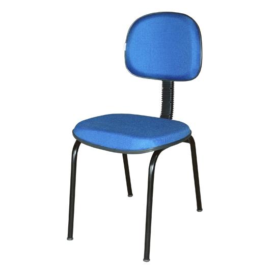 """Cadeira secretária encosto """"L"""""""
