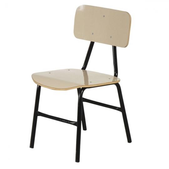 Cadeira escolar PNE intermediária bege