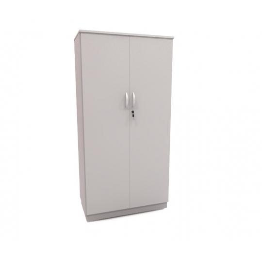 armário 02 portas coletivas CINZA