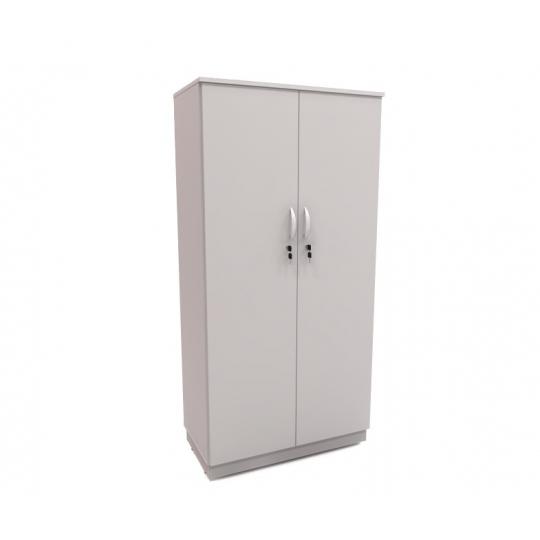 armário 02 portas individuais CINZA