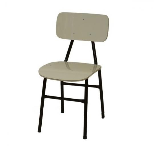 Cadeira escolar PNE adulto form bege
