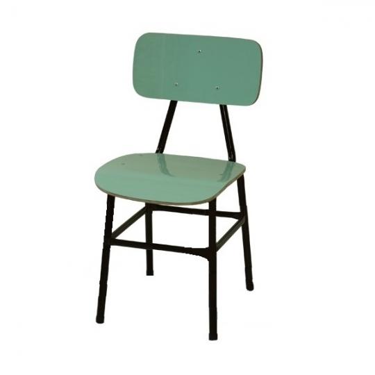 Cadeira escolar PNE adulto form verde claro reforçada
