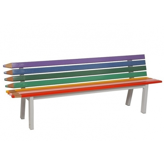 Banco de madeira lápis