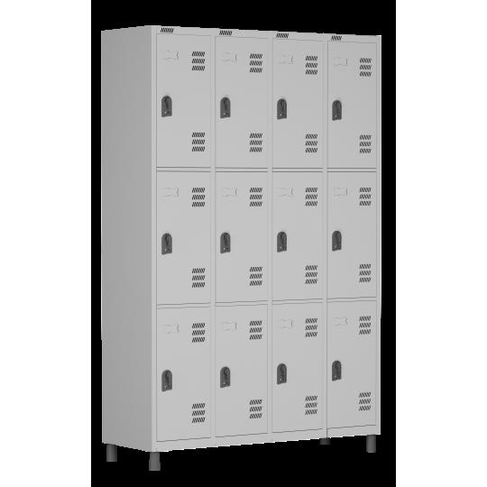 Roupeiro de aço 12 portas