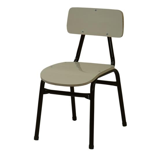 Cadeira escolar PNE pré form bege